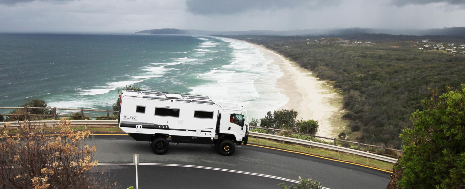 FTS800 4x4 | Luxury 4x4 Motorhome |SLRV Expedition Vehicles