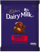Cadbury Dairy Milk <br />Fruit & Nut  Copy