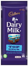 Cadbury Dairy Milk Top Deck