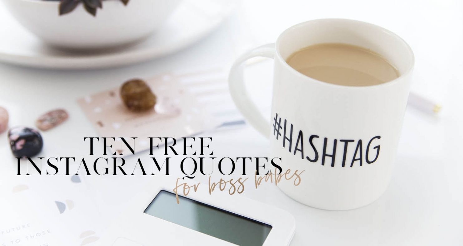 10 Free Instagram Motivational Quotes For Lady Bosses Boss