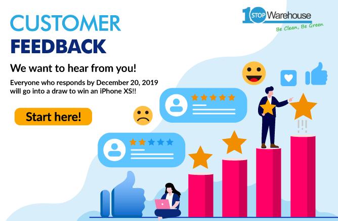 Home feedback banner