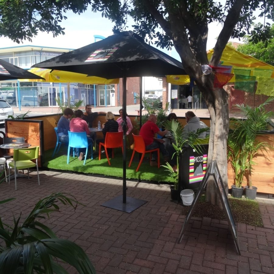 Expressions of interest to host a parklet are now open and will close Monday 16 October 2017.