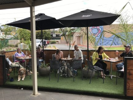 Parklet Program creates places for people