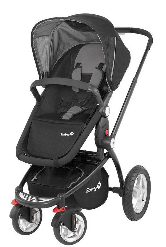 Safety 1st Shuttle Stroller Sky Black Ttn Baby Warehouse