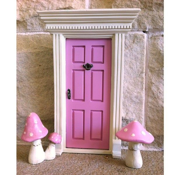 Little fairy door mushrooms ttn baby warehouse for Secret fairy doors by blingderella