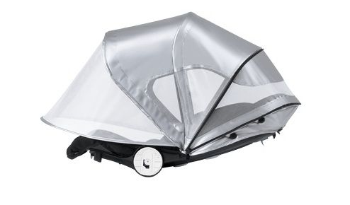 ... BUGABOO BEE BREEZY SUN CANOPY SILVER. ?. Search for  sc 1 st  TtN Baby Warehouse & BUGABOO BEE BREEZY SUN CANOPY SILVER - TTN Baby Warehouse