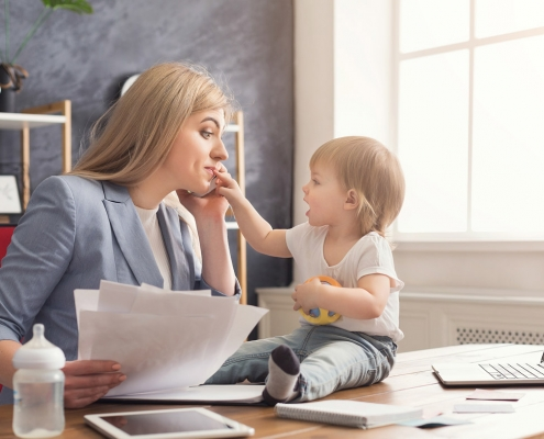 Working Moms: A Sample Plan for Hectic Workdays