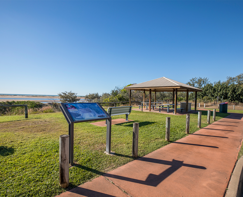 Alva Beach lookout, Ayr, Burdekin