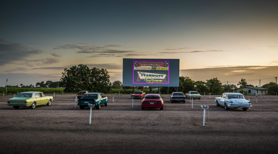 Stardust Drive-in Cinema, Ayr by Budd Photography