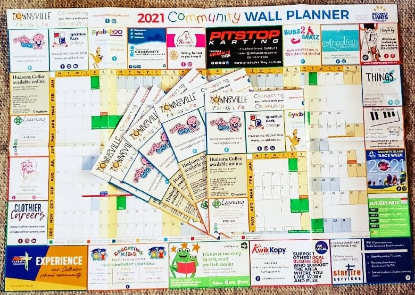 2021 Community Wall Planner