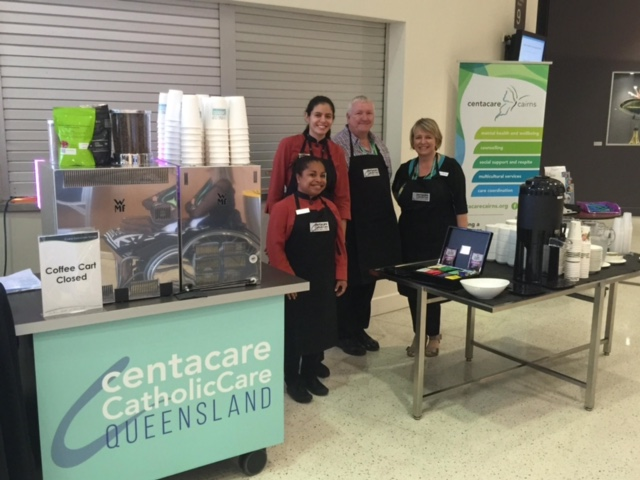 The Centacare Queensland Coffee Cart at QDC