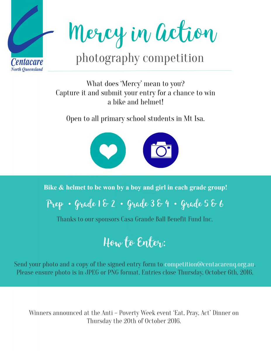 Mercy in Action Photography Competition