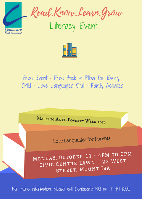 Read.Learn.Know.Grow Literacy Event