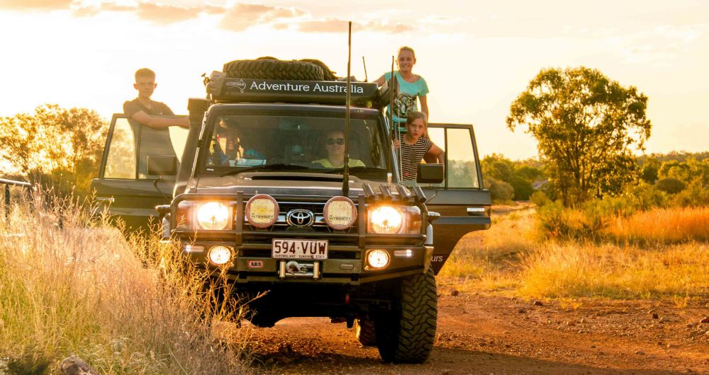 4WD Adventure In The Heart Of The Outback