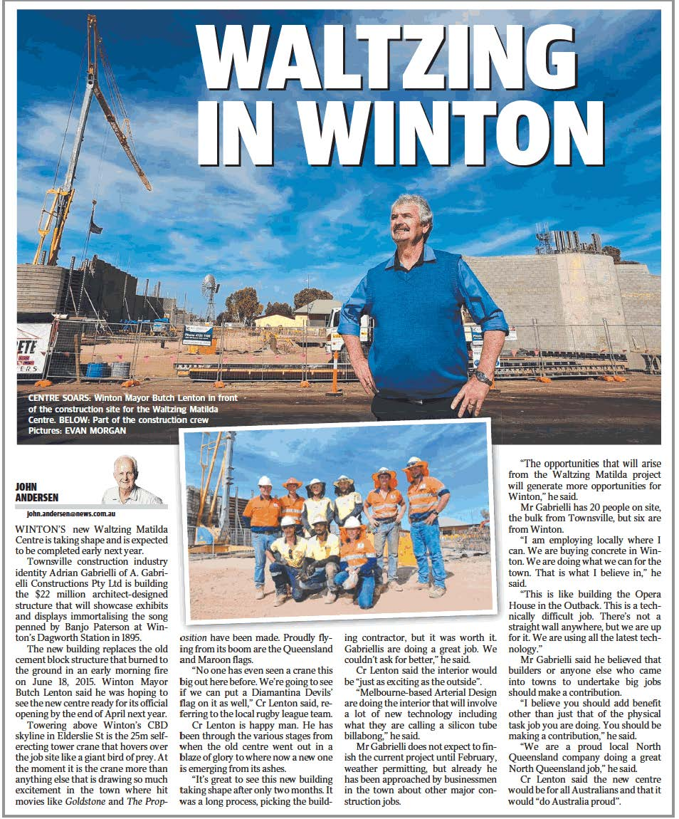 Article Townsville Bulletin
