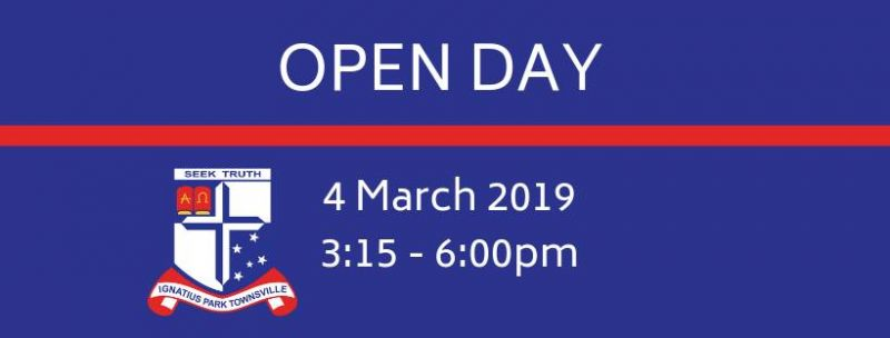 2019 Open Day - 4 March from 3:30pm-6:00pm