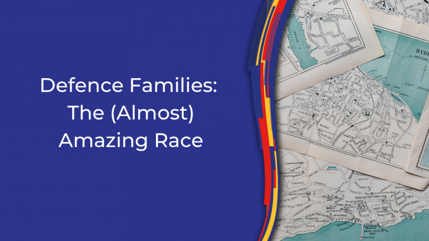 The (Almost) Amazing Race - Calling all ADF Families