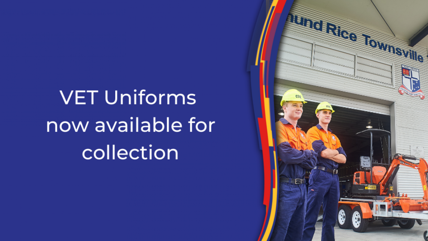 VET Uniforms Now Available for Collection