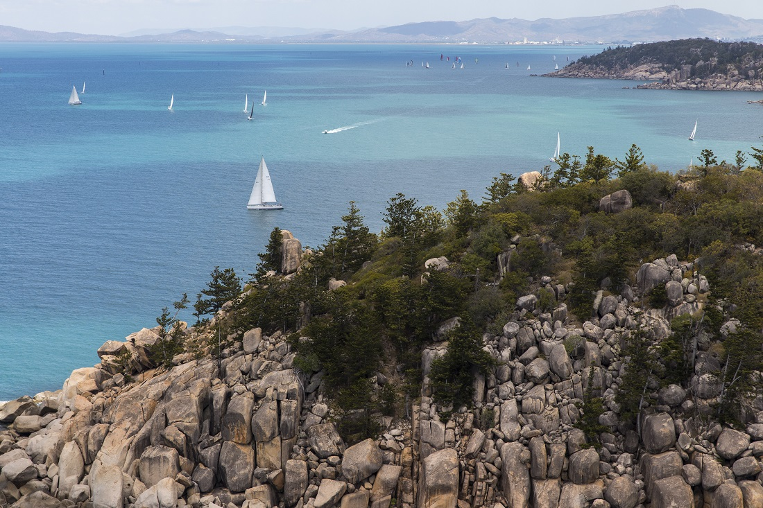 Aerial view of SeaLink Magnetic Island Race Week  - Photo Credit Andrea Francolini