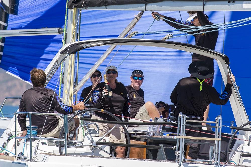Champagne sailing on Champagne - Andrea Francolini