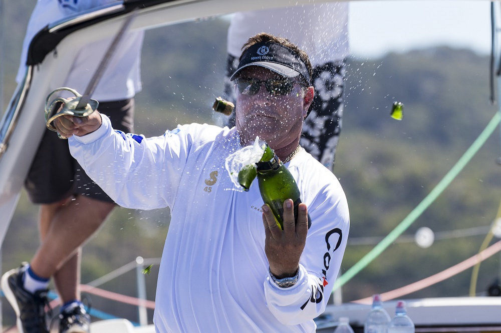 Cracking open the champagne on Champagne - Photo Credit Andrea Francolini