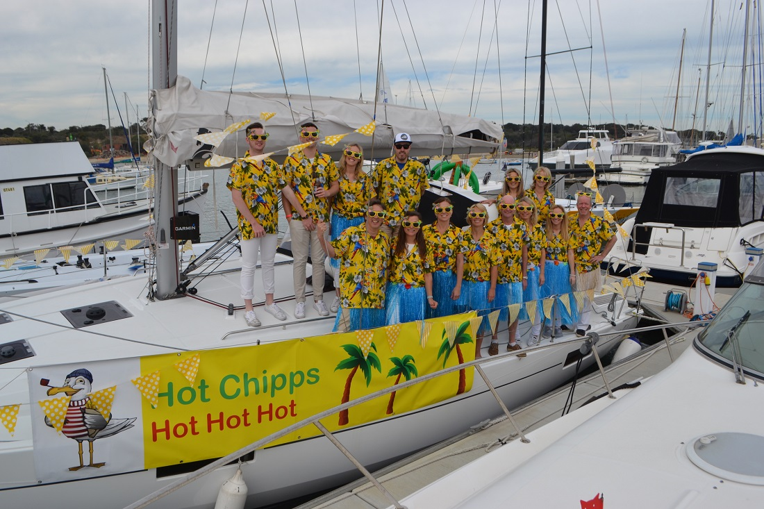 Crew of Hot Chipps - too hot to touch - Photo Credit John Chipp