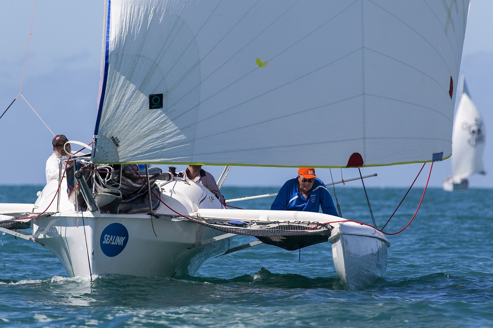 Mistress crew enjoy the regatta -  Photo Credit Andrea Francolini