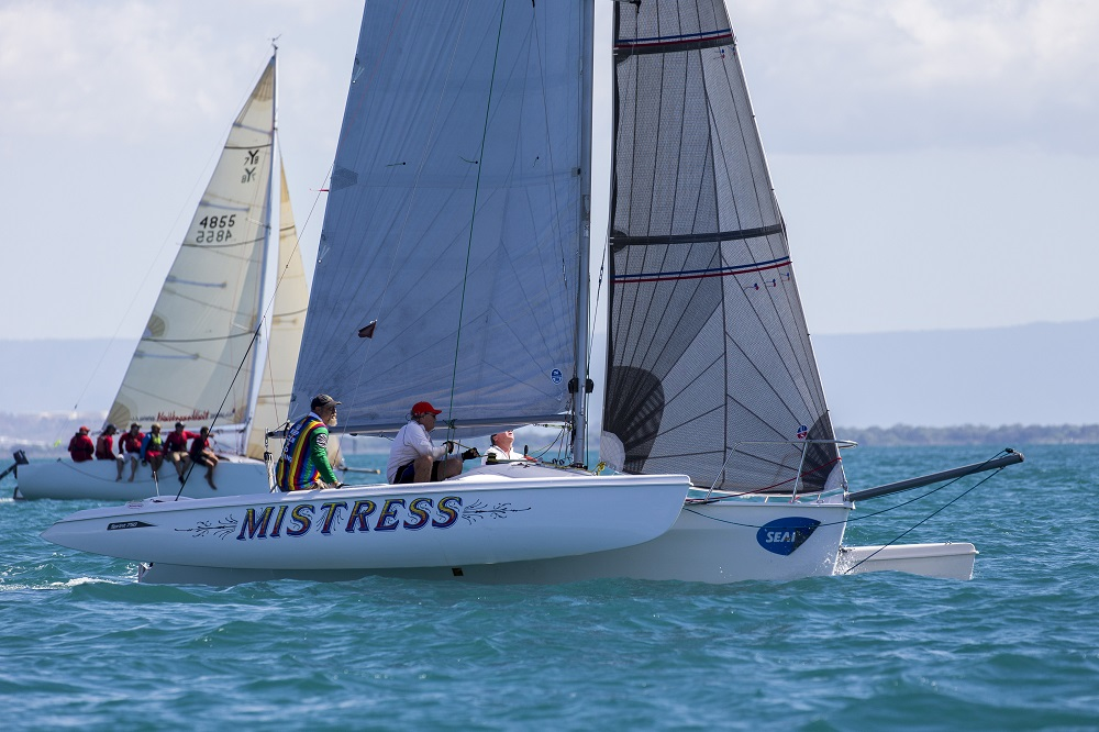 Mistress finished second in Multihulls overall - Photo Credit Andrea Francolini