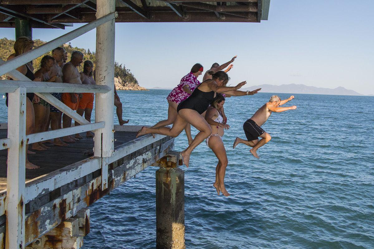 New sport of Pier Jumping