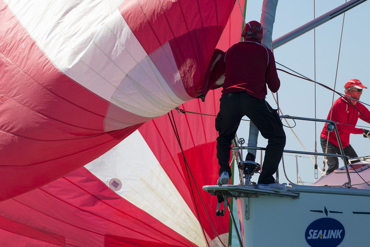 On the bow on Mach 1