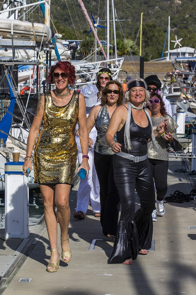 Some crews take dress up to a new level - Andrea Francolini