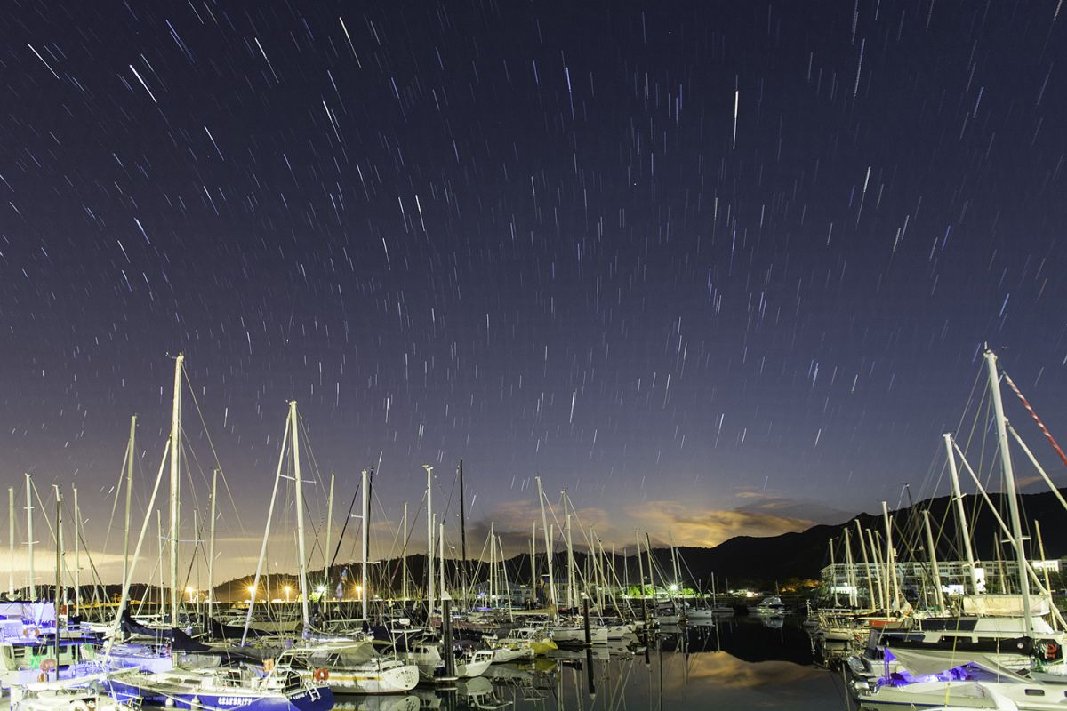 Stars early morning at Peppers