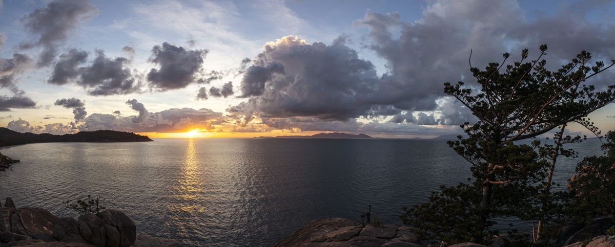 Sunrise on the final morning of SeaLink Magnetic Island Race Week - Photo Credit Andrea Francolini