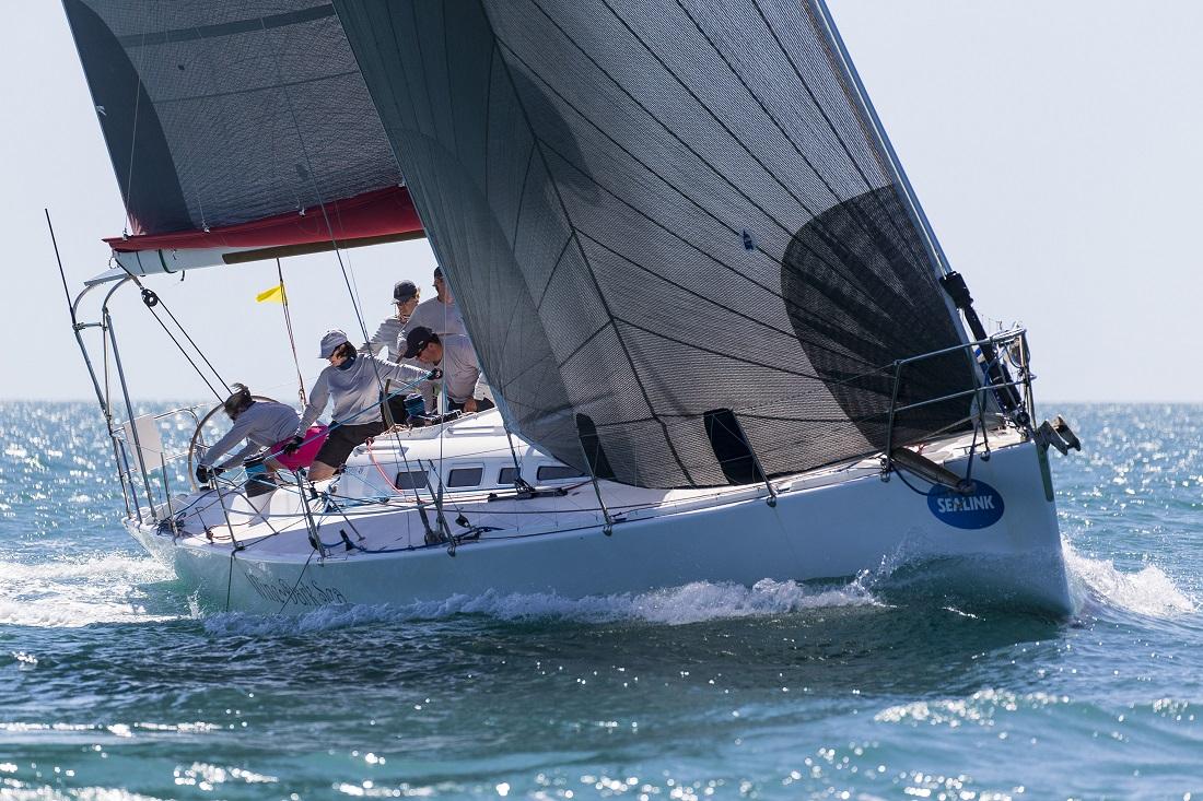 Wine Dark Sea sailed to a five minute win today - Photo Credit Andrea Francolini