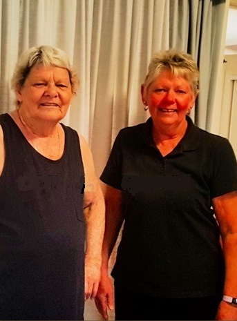 Dot (left) with Robin (right) her trusted CÜRA Home Care Worker