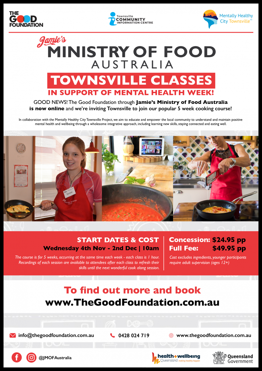 Jamie's Ministry of Food Australia Townsville Classes
