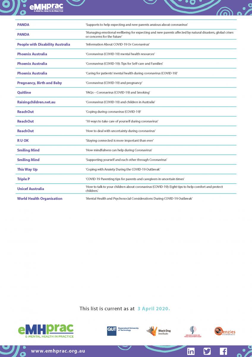 COVID-19 Factsheet Page 4