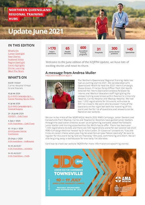 NQRTH Newsletter June