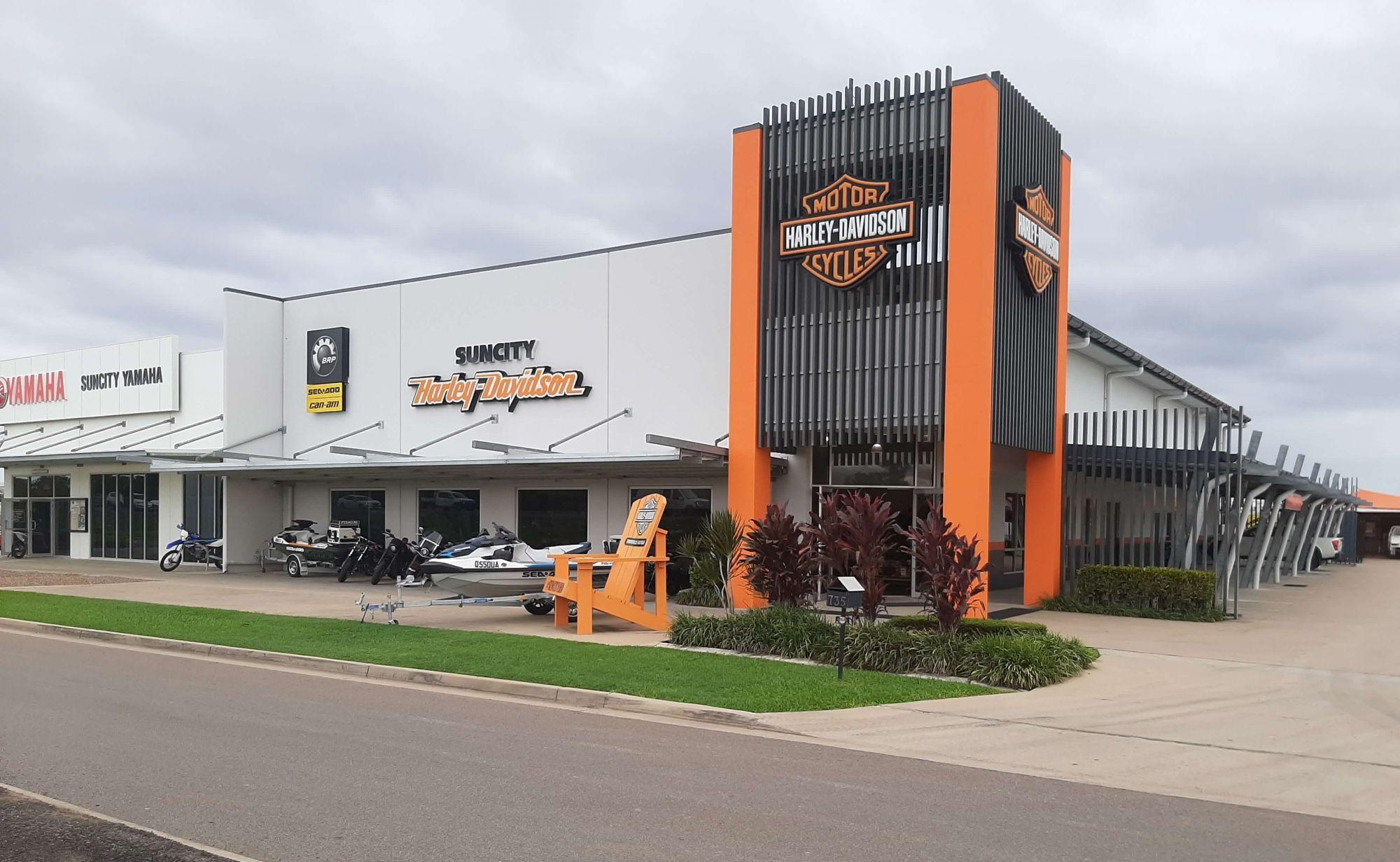 Suncity Harley Davidson & Sun City Yamaha, Woolcock St Bohle