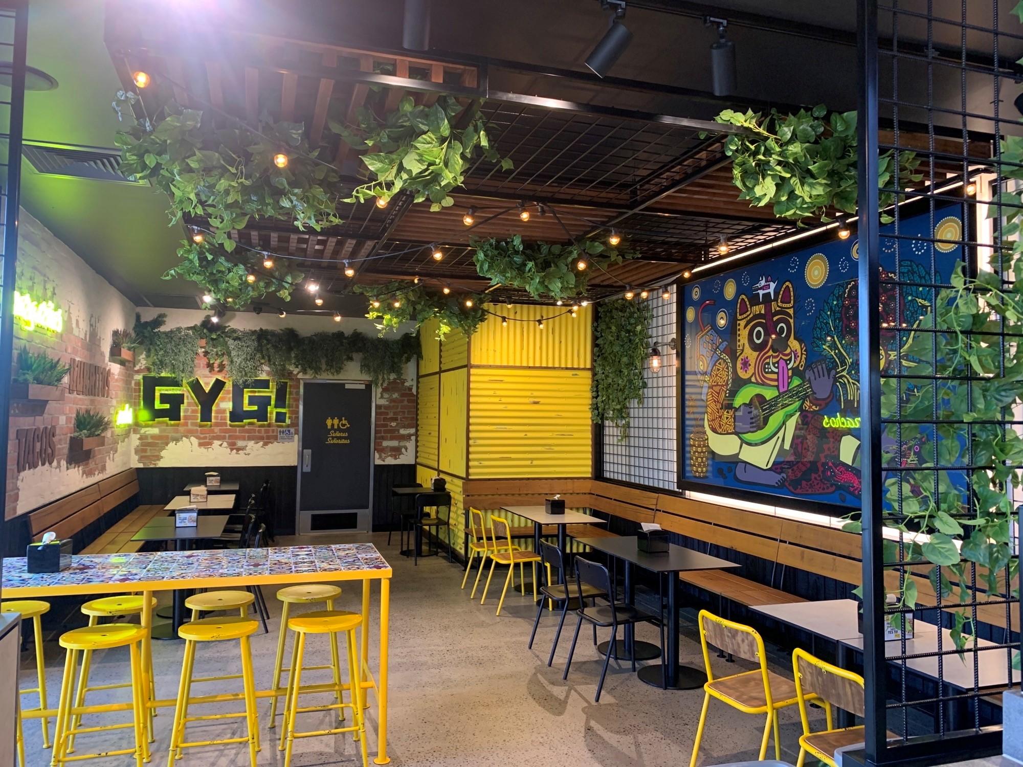Guzman Y Gomez Restaurant Willows Shopping Centre Townsville