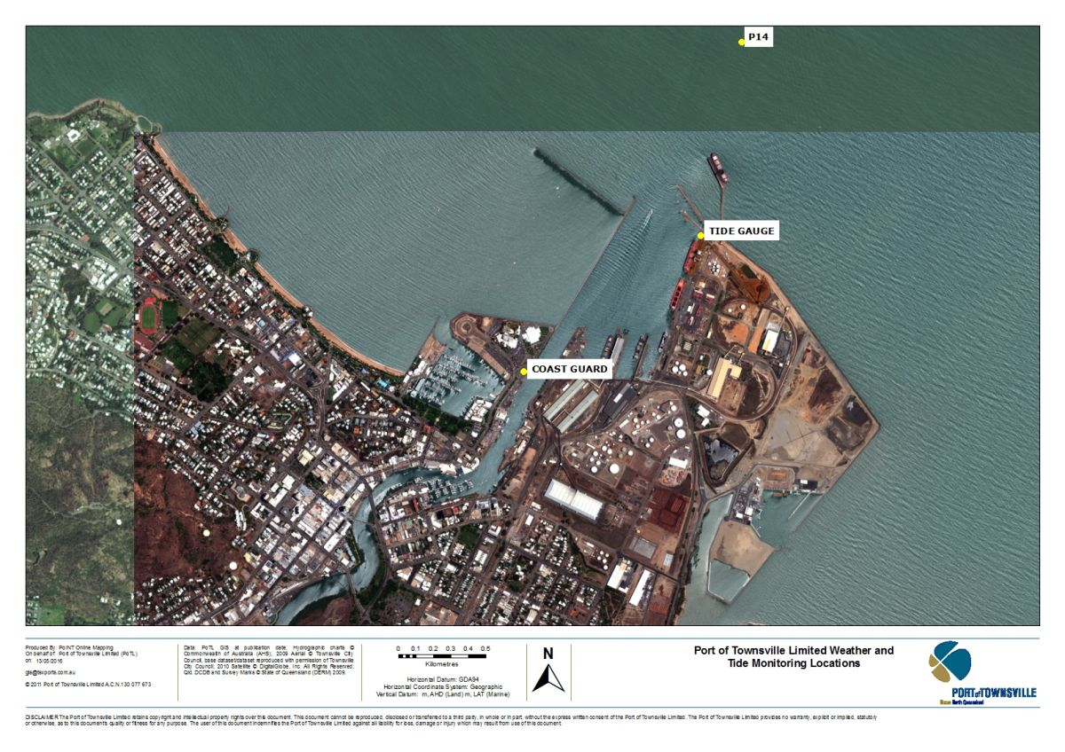 Weather Data | Port of Townsville