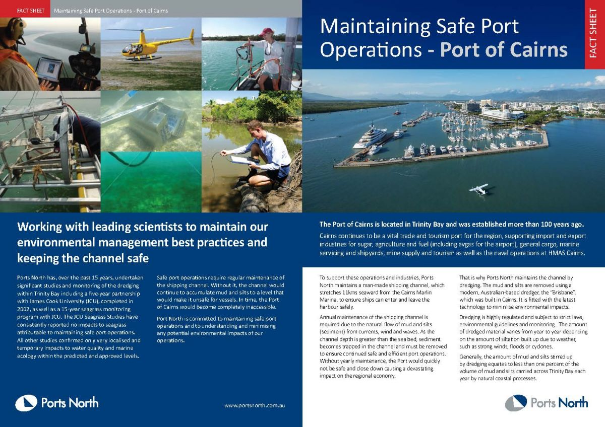 Safe Port Operations Cairns