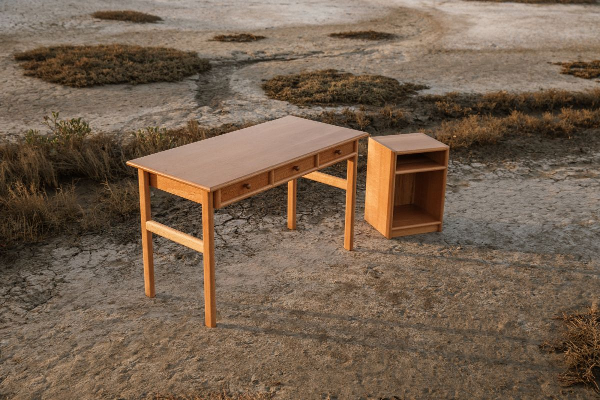 Desk & Shelf