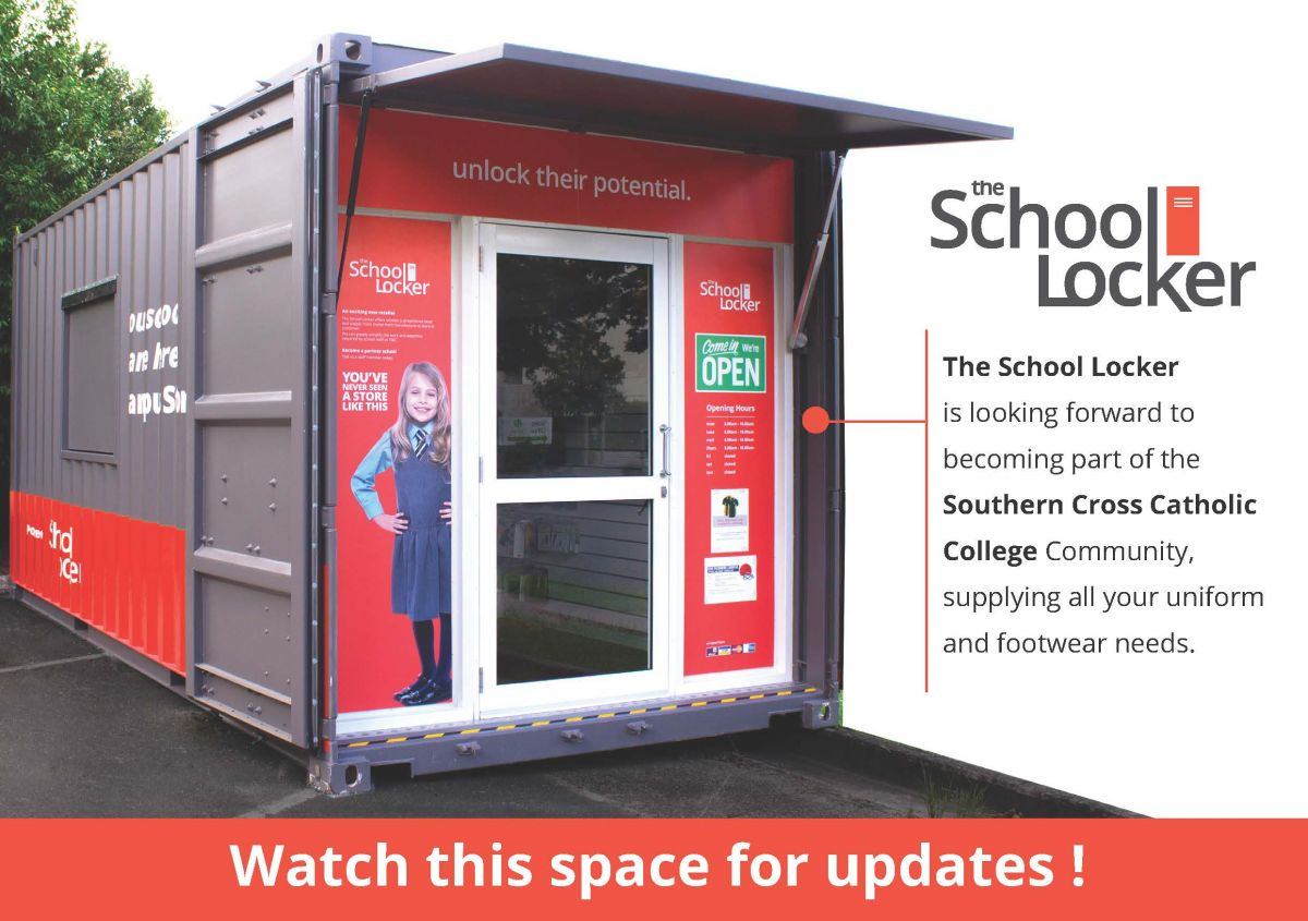School Locker Advertisement