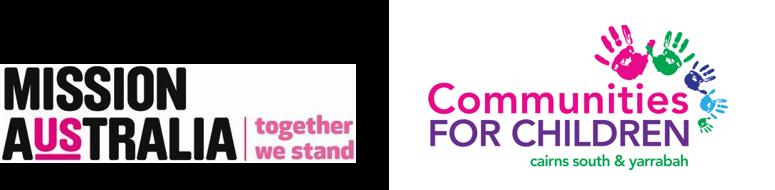 Mission Australia & Communities for Children logos