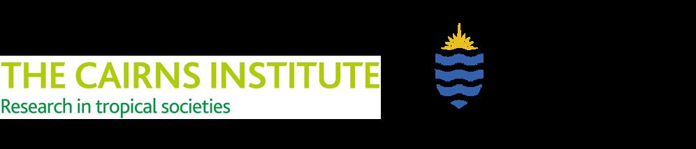Cairns Institute & JCU logos