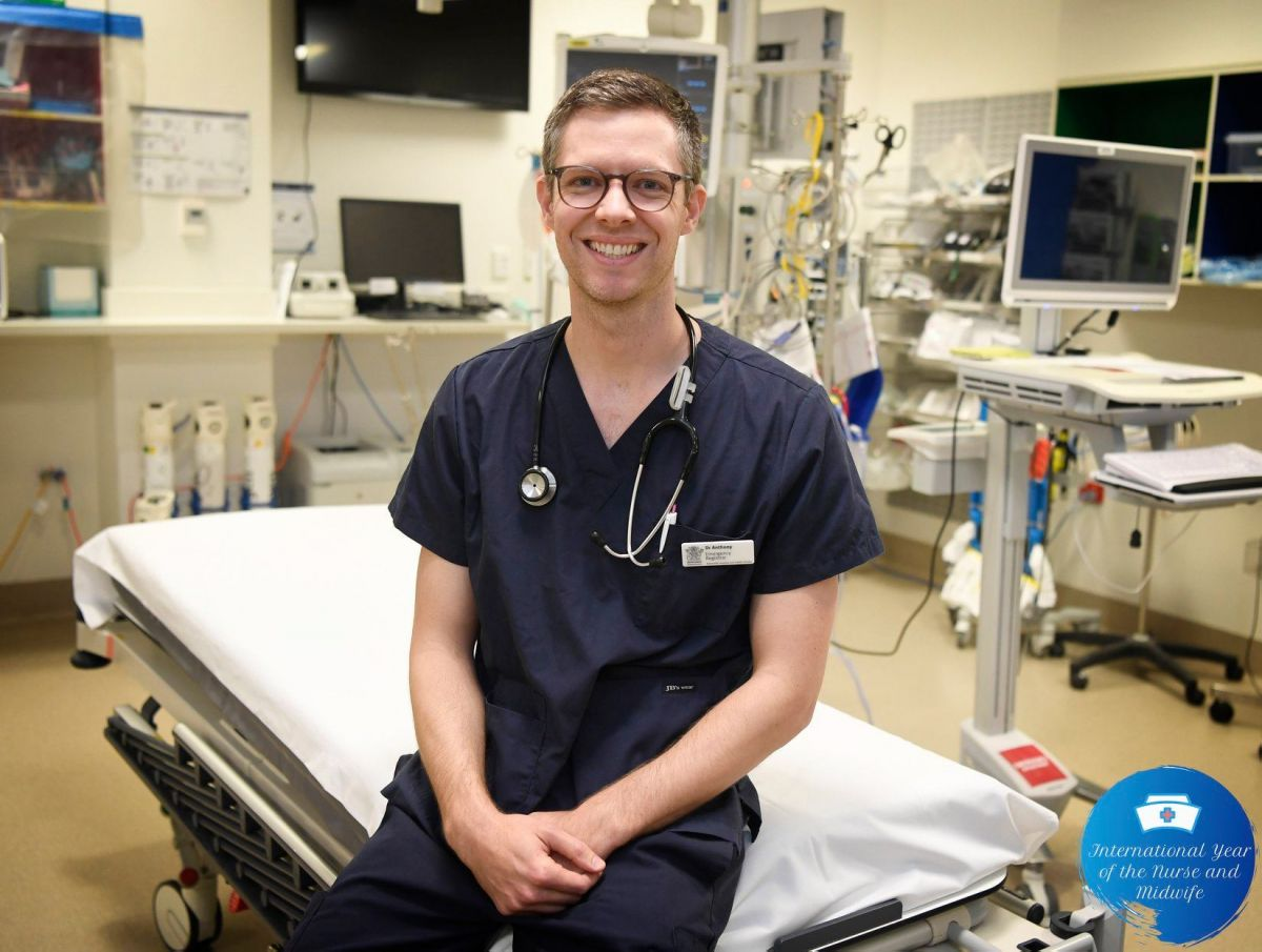 Anthony - International year of the nurse and midwife