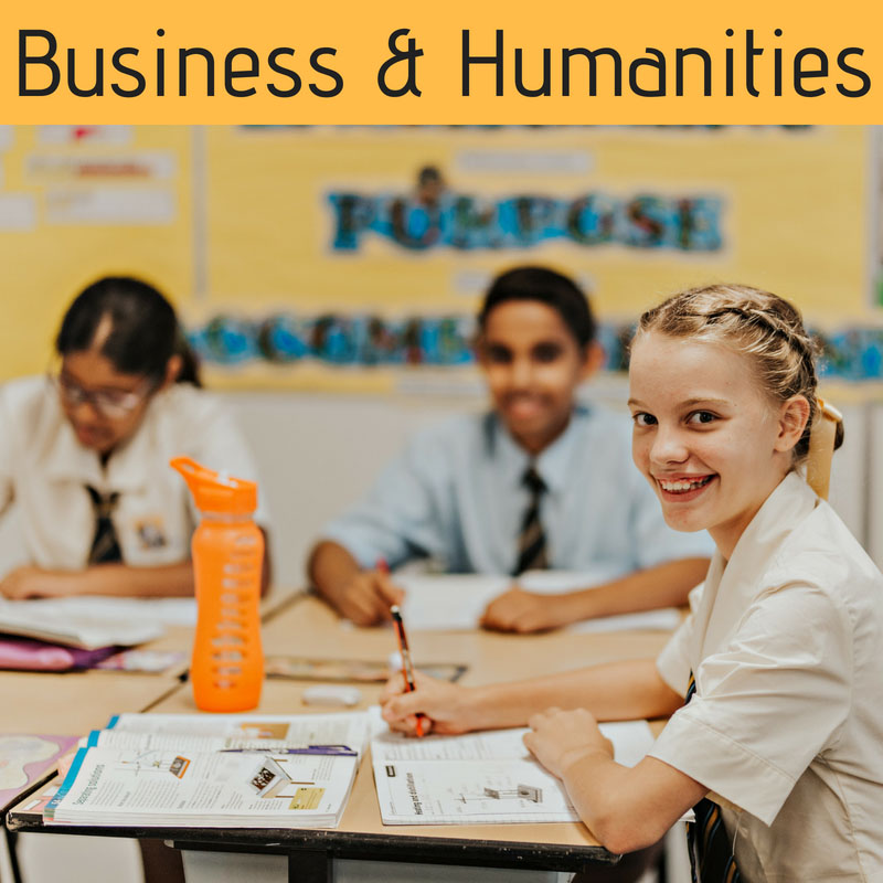 Business and Humanities at Townsville Grammar School