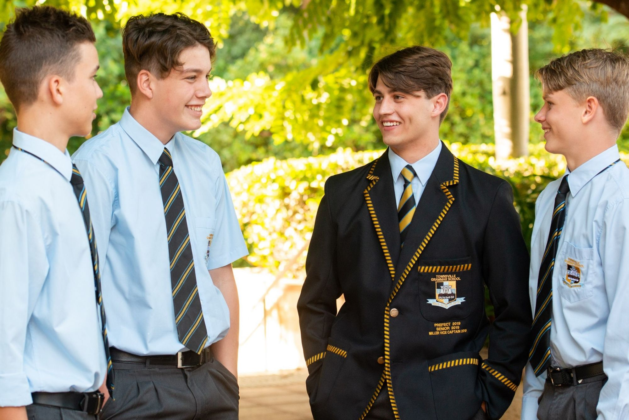 Townsville Grammar School High School students