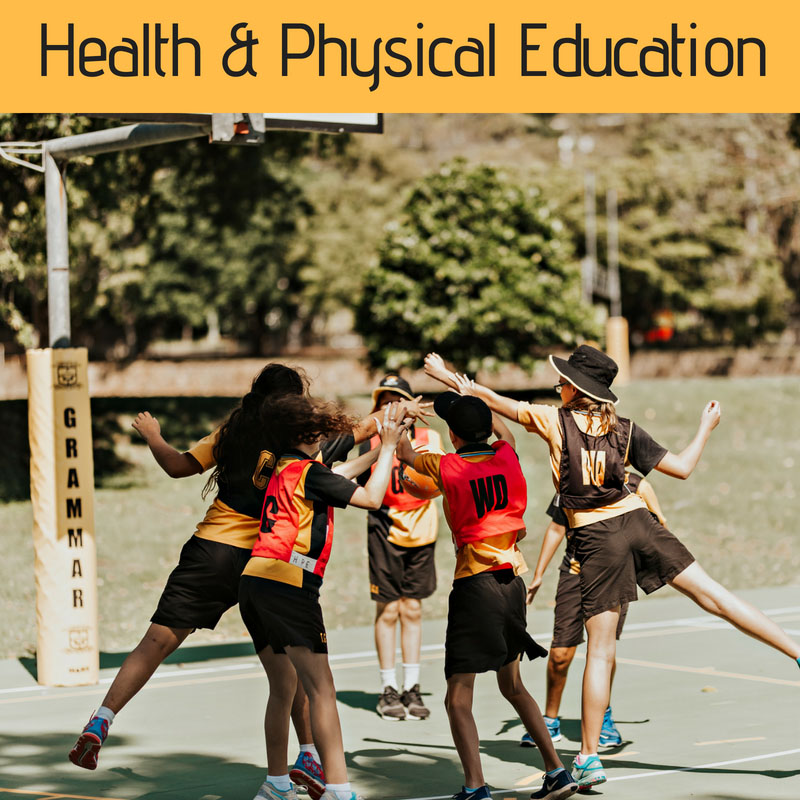 Health and Physical Education at Townsville Grammar School